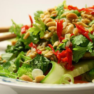 Vietnamese Noodle Salad With Tofu
