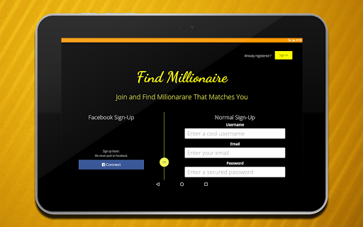 Adult Dating, Find Millionaire 1.5 screenshots 13