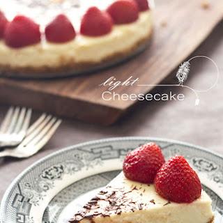 Light Cheesecake.