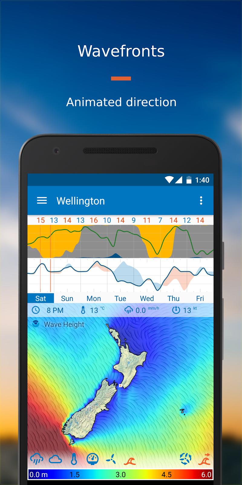 Flowx: Weather Map Forecast Screenshot 5