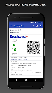 Southwest Airlines- screenshot thumbnail