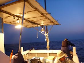 Photo: 日が落ちて、「夜タキ」スタート!
