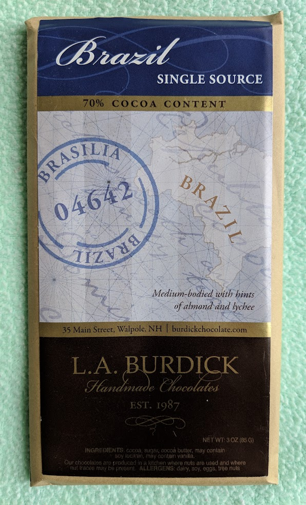 70% Brazilia Burdick Bar