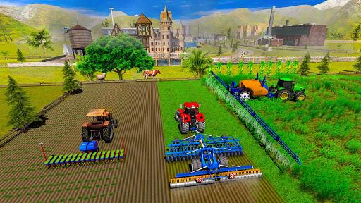Farming Simulator Game 2018 u2013 Real Tractor Drive 1.4 screenshots 13
