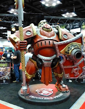Photo: Khador Man o' War power suit at the Privateer Press booth