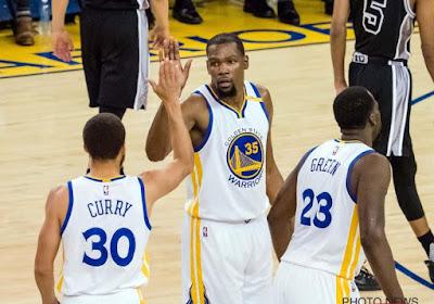 Golden State Warriors zijn nieuwe kampioen in NBA en leveren ook MVP af