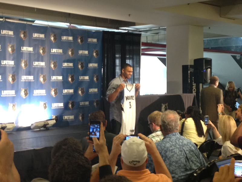 "Photo: ""Brandon Roy Press Conference"". July 31, 2012"