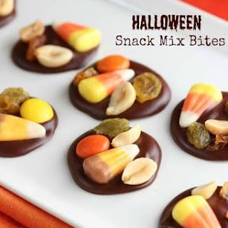 Halloween Snack Mix Bites
