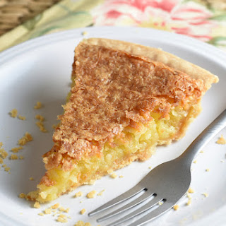 French Coconut Pie.