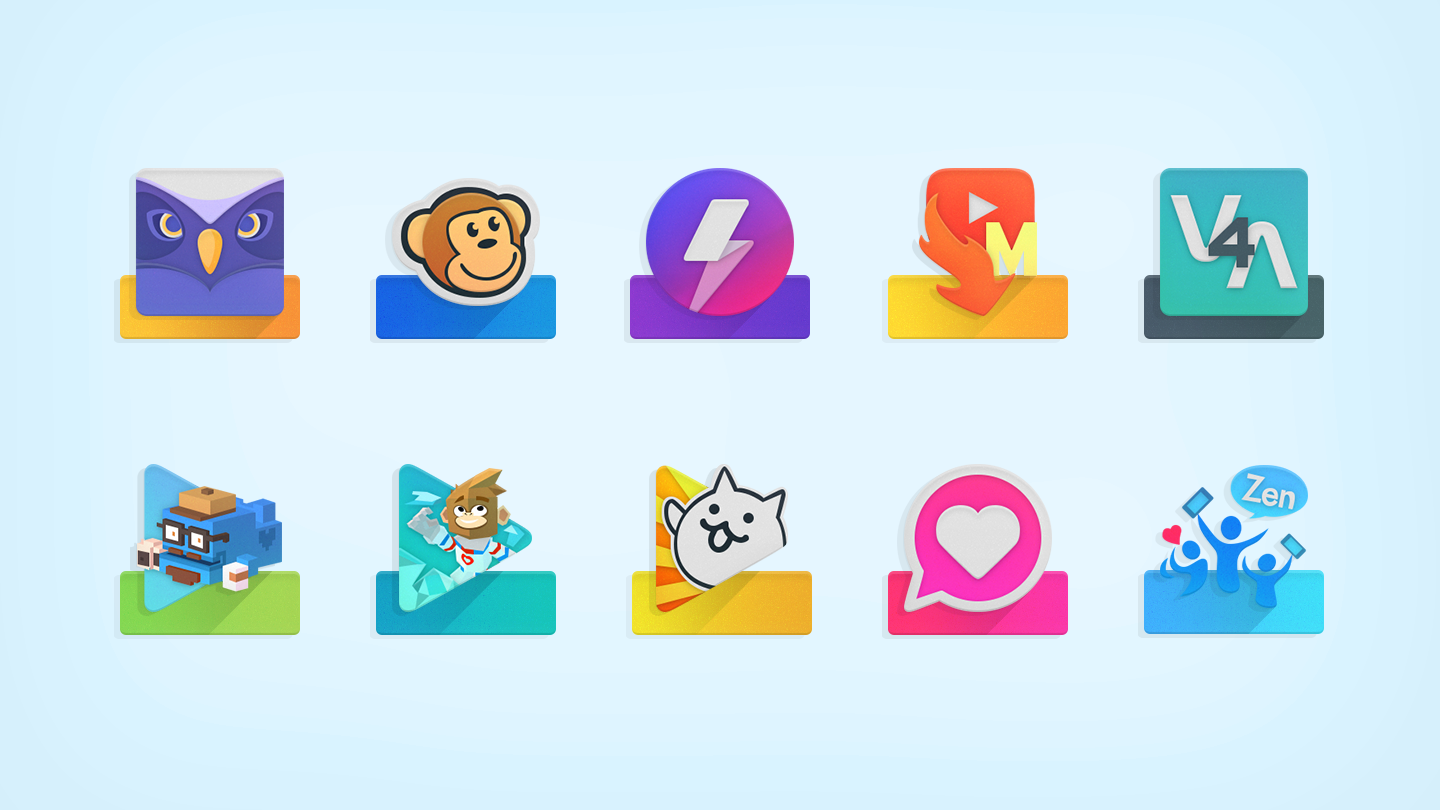 ELEV8 Icon Pack - 屏幕截图