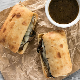 Vegetarian French Dip Sandwiches