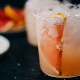 Paloma Cocktail with Fresh Squeezed Grapefruit Juice.