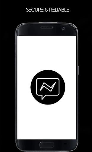 Black Messenger - A Dark Mode Messenger Apk 1
