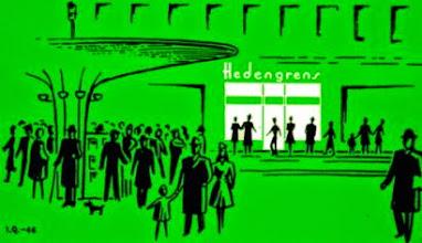 Photo: Domingo de libros, domingo de Ruta librera. Hoy viajamos a Estocolmo, a la Hedengrens Bookstore.  Situada en una de las zonas más elegantes de la ciudad, muy cerquita del famoso centro comercial Sturegallerian, nos encontramos un escaparate oscuro, con aspecto antiguo incluso, olor a papel y lámparas de cristales. Se trata de una de las librerías más famosas de la ciudad, una suerte de santuario poblado por más de 60.000 títulos en todos los idiomas por entre los que nos paseamos despacio, admirando sus exposiciones y conteniendo la respiración al llegar a la bóveda. Es prácticamente imposible no quedarse sin habla durante unos segundos al entrar aquí y verse rodeado por tantísimos grandes nombres de la literatura. Además, si uno se gira despacio, puede sorprender a un escritor o editor  que también contiene la respiración durante unos segundos al entrar. Más de un siglo de historia, anécdotas con lecturas de Irving, sus ya famosas escaleras...  Un lugar en el que, al entrar, sólo hay una cosa que los visitantes no dudan: están en una librería. De las de siempre. De las de verdad. Fotografías: yet.com