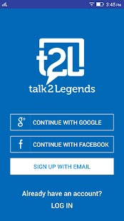 talk2Legends, t2L- screenshot thumbnail