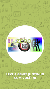 Web Rádio Zero 80- screenshot thumbnail