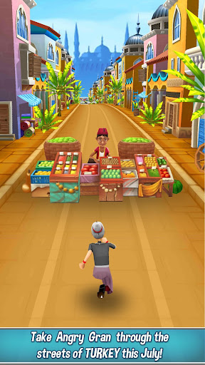 Angry Gran Run - Running Game screenshot 1