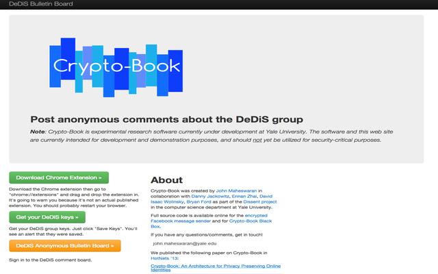 Crypto-Book