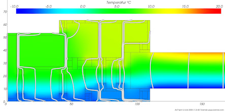Photo: Validation of the thermal heat bridge calculation program AnTherm according to EN ISO 10077:2003 Validation Case D1