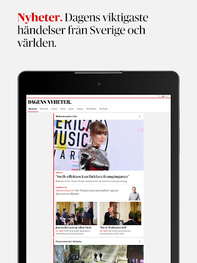 Dagens Nyheter 4.3.1 screenshots 5
