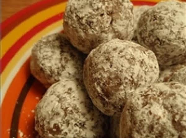'tis The Season Rum Balls! Recipe