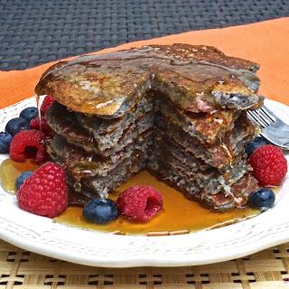 Awesome Raspberry Protein Pancakes Recipe