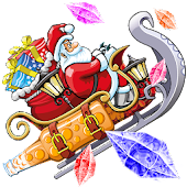 Santa Claus and Sledge Christmas adventure