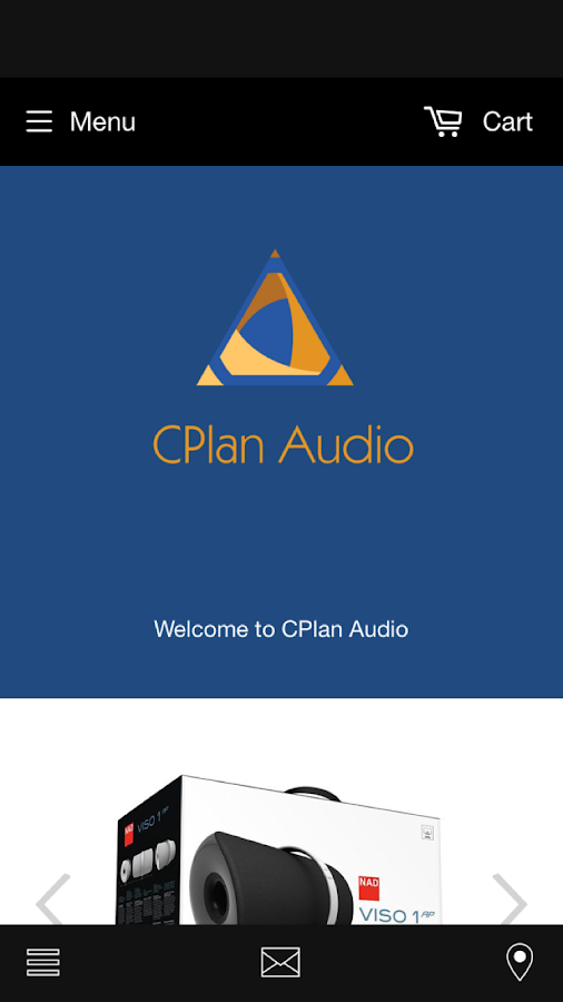 CPlan Audio Store- screenshot