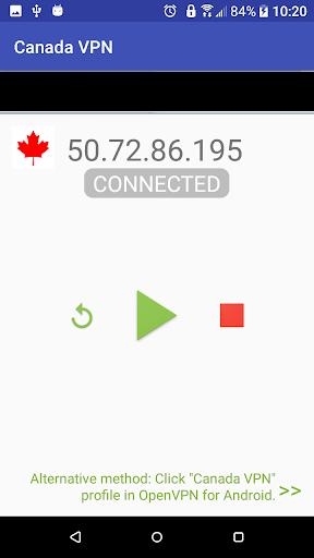 Canada VPN 3.3.0 screenshots 1