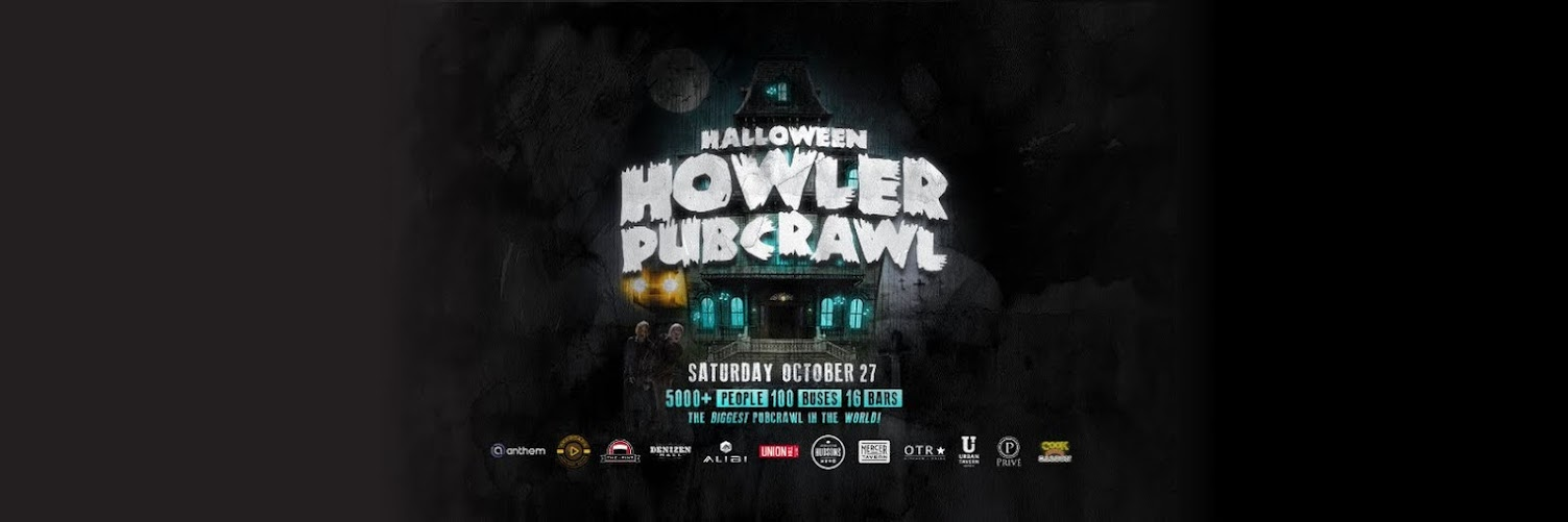Halloween Howler Route 13 - Alibi to Hudson's Whyte