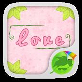 Pink Love Theme Keyboard