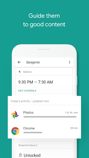 Screenshot for Google Family Link for parents in United States Play Store
