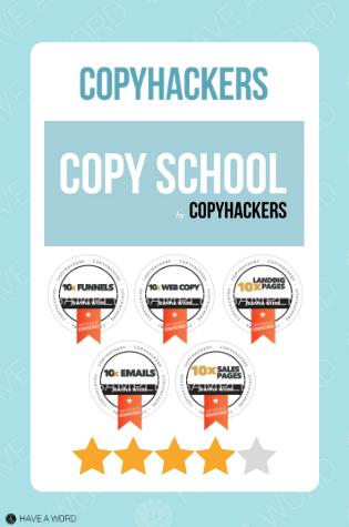Copyhackers copy school review