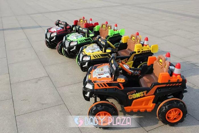 Xe oto điện Jeep KKL-5288 cực ngầu cho bé 2