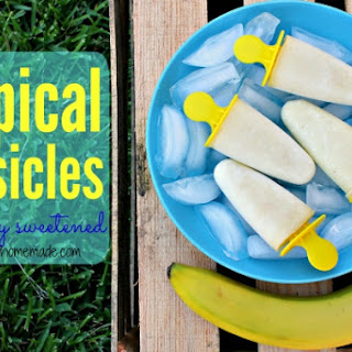 Sweet Tropical Popsicle Recipe