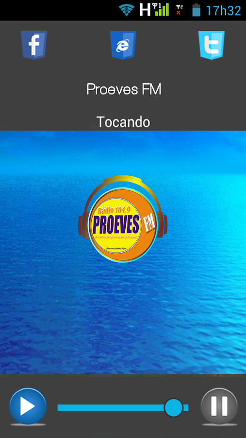 Proeves FM- screenshot