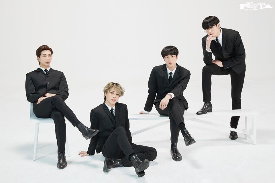 BTS RM Jimin Jungkook Jin photos in BTS FESTA 2020