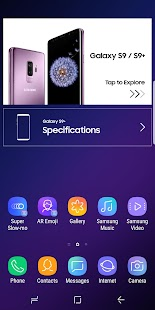 Experience app for Galaxy S9/S9+ Screenshot