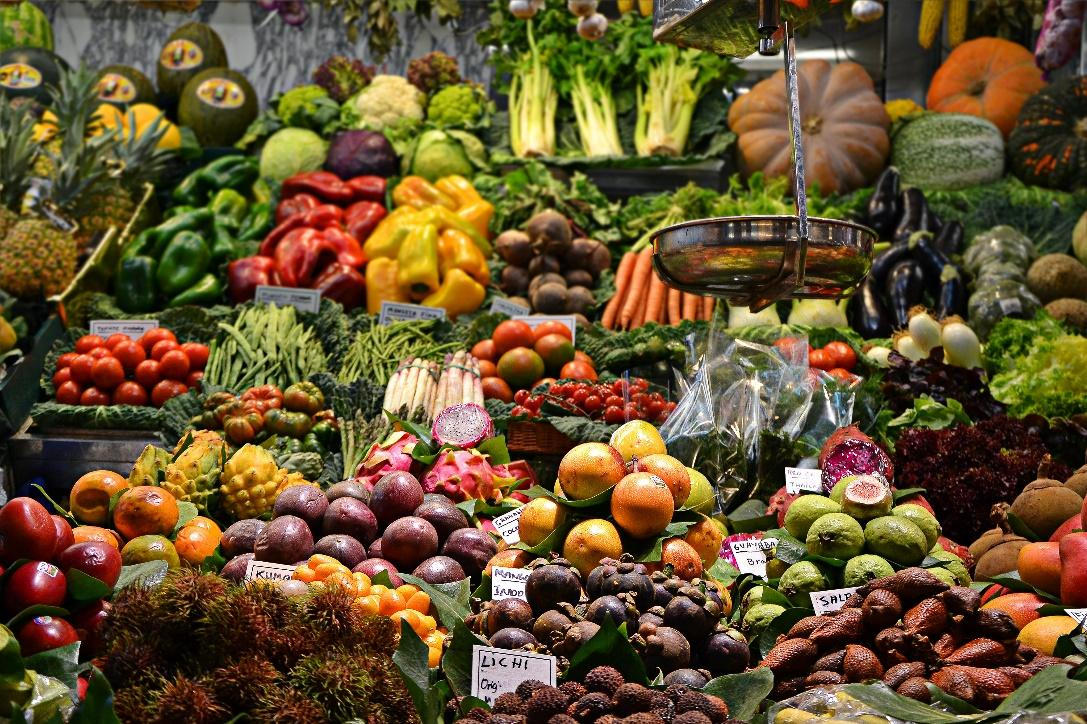 A picture containing food, fruit, vegetable, different  Description automatically generated