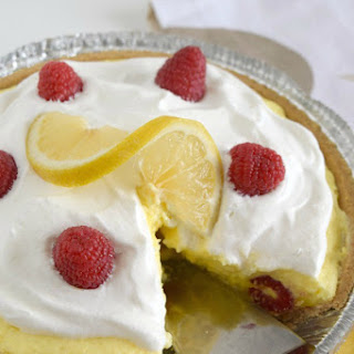 Creamy Lemon Layered Pie.