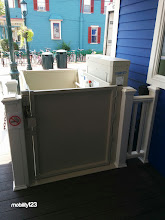 Photo: Cape May Commercial Wheelchair Lift