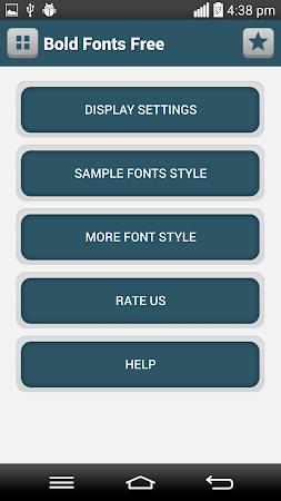 Bold Fonts Free 1.4 screenshot 1962600