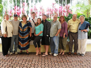 Photo: 3/22/11: extended Hough Family portrait: L-R: Sherna, Jim Morgan, Bonnie, Bryn Deamer, Jenny Morgan, Lloyd Green, Brian, Judy, Sam, Penelope Hough.