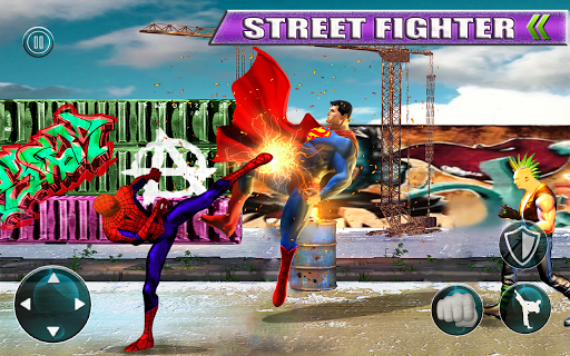Superhero Fighting Games Grand Ring Arena Battle 1.2 screenshots 2
