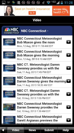 NBC Connecticut Weather screenshot 4