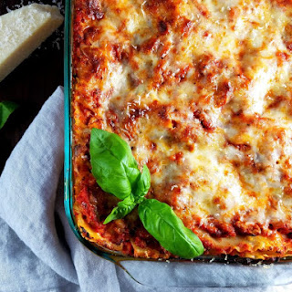 Turkey Bolognese Lasagna Recipe