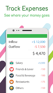 Money Lover: Expense Manager, Budget & Saving App Screenshot
