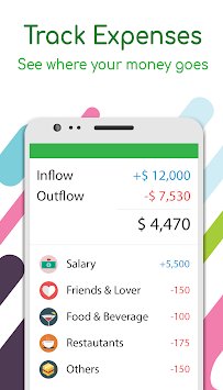 Money Lover -  가계부 APK screenshot thumbnail 2