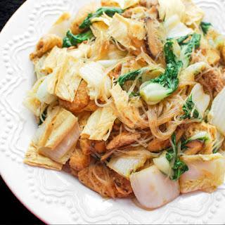 Chinese Vegetarian Stir-Fry.