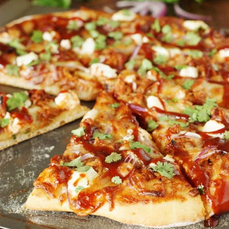 Sweet-&-Spicy Pulled Pork BBQ Pizza Recipe